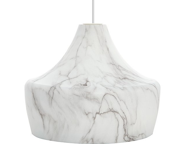 Marble-effect Dinner Ceiling Pendant - George