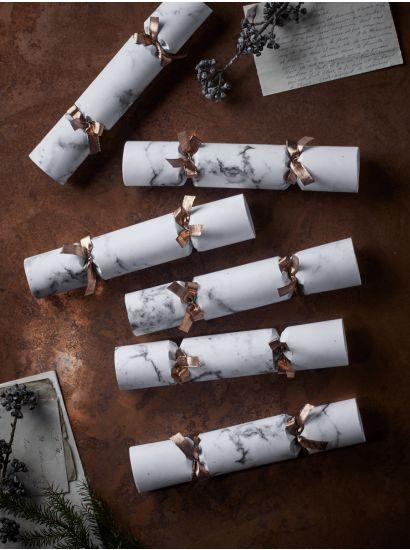 Marbled paper krackers