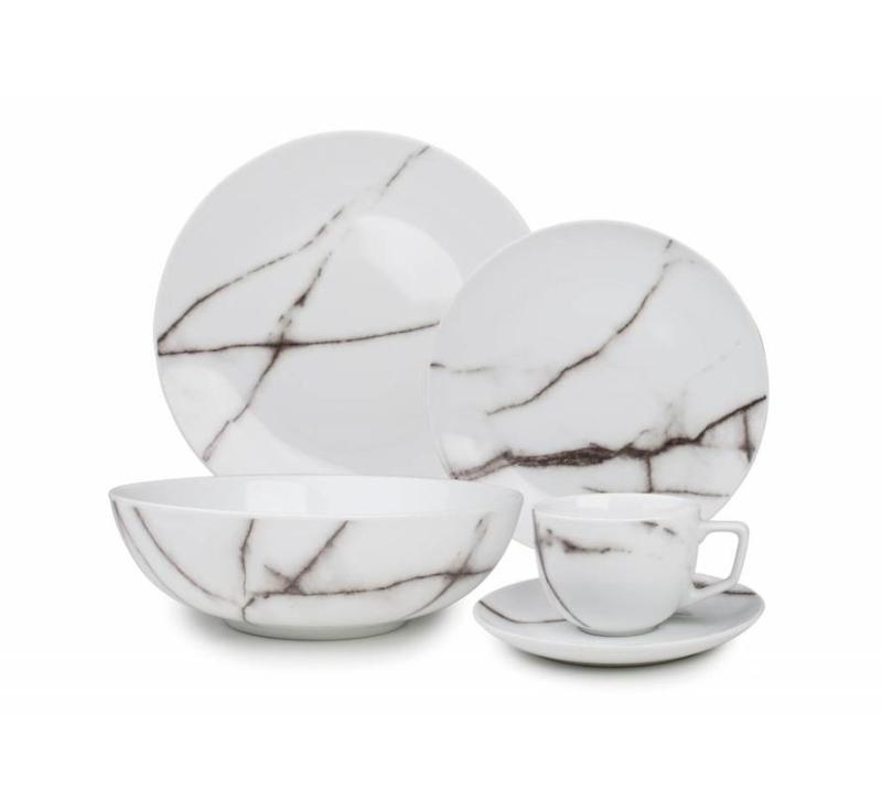 S&P MARBLE dinnerware by Bath and Living