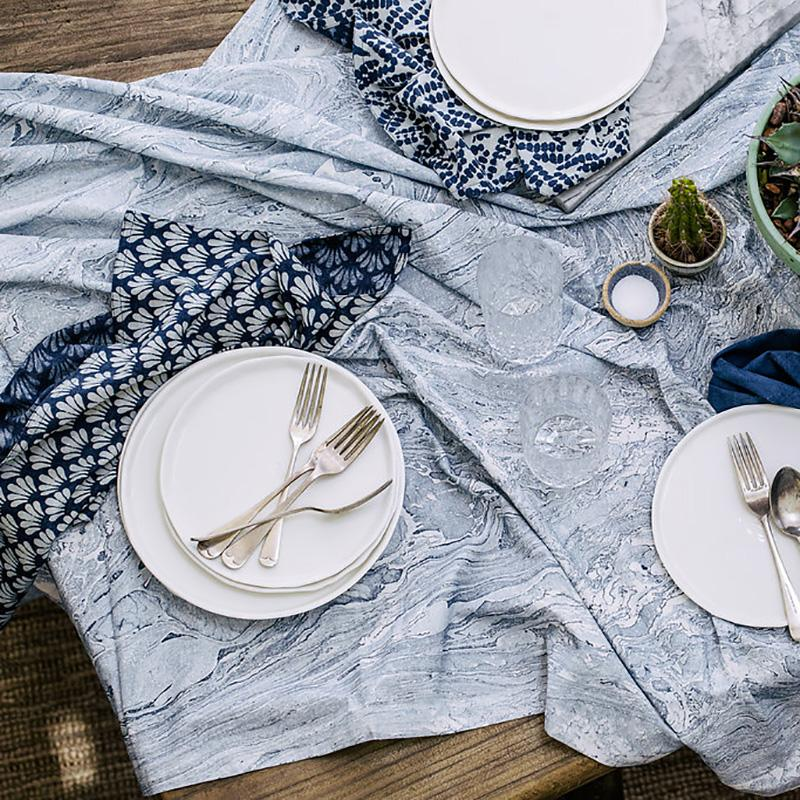 Marble tablecloth by Walter G.