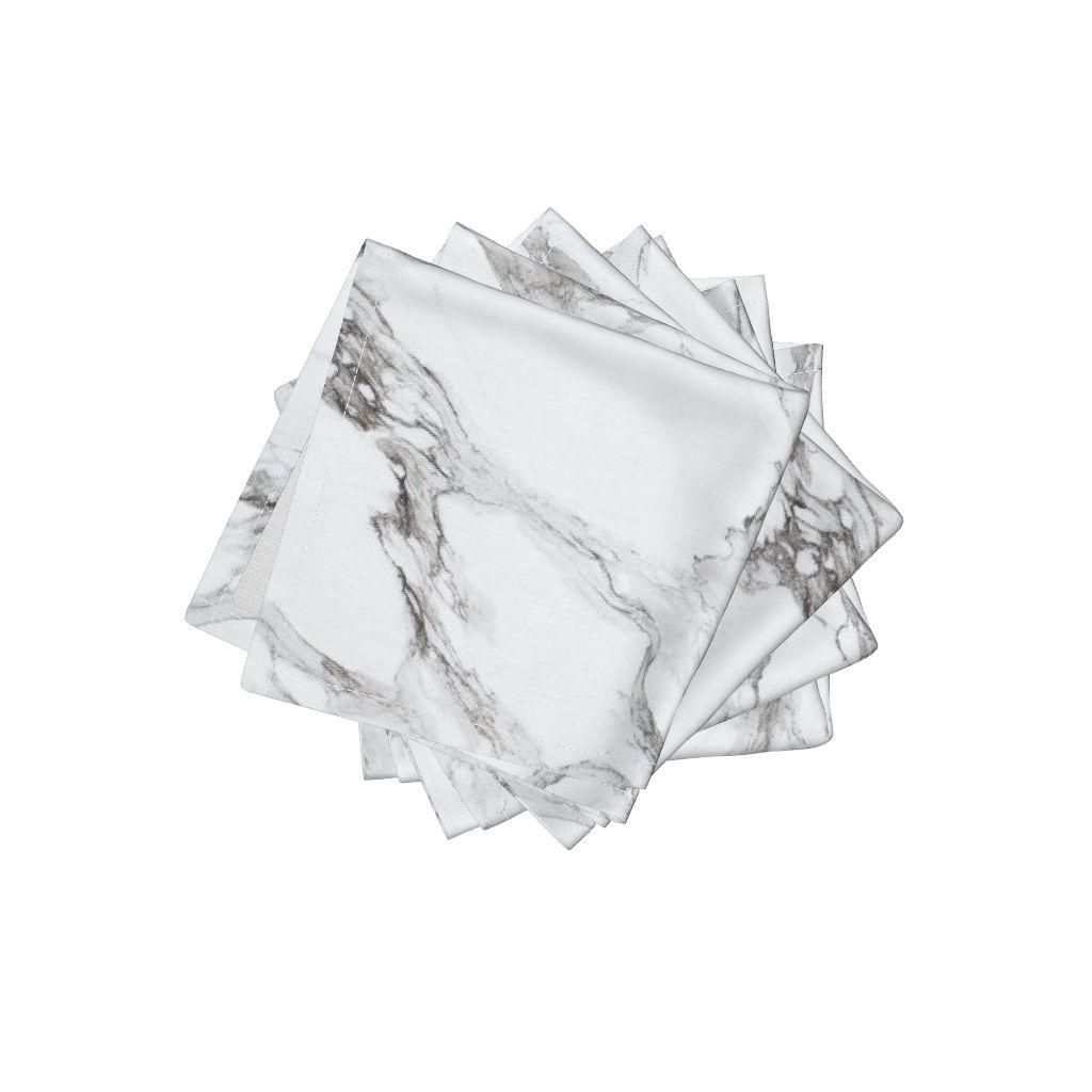 Marble napkins by Willow lane textiles