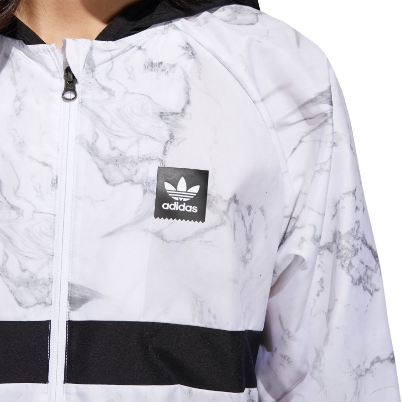 Adidas marble packable wind jacket - 2018