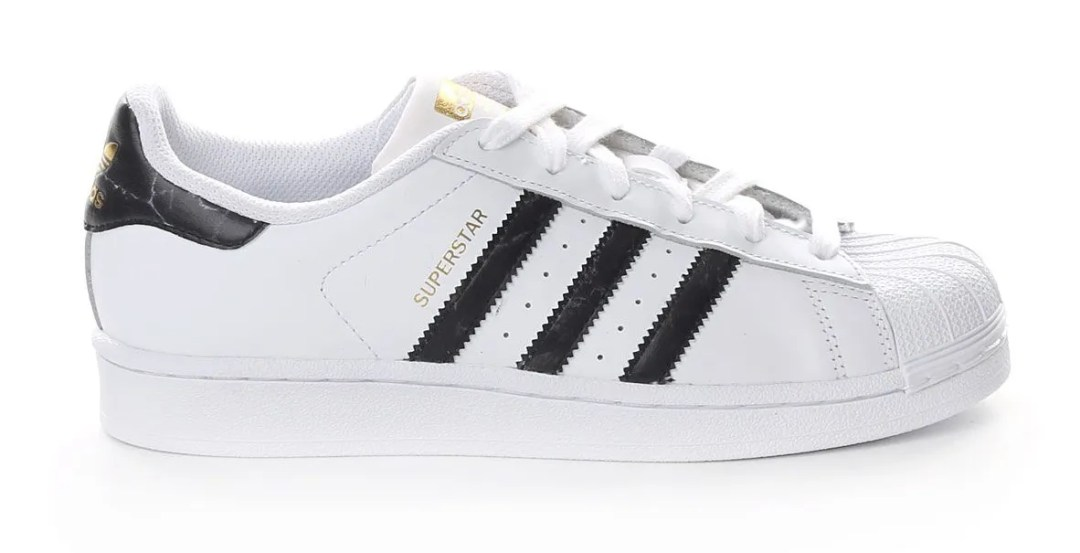 Adidas Superstar marble Pack, White + Black marble