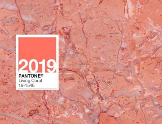 The PANTONE Color of the Year 2019: Living Coral!