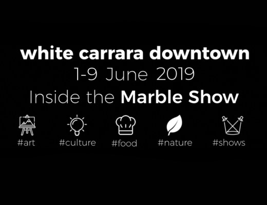 White Carrara Dowtown - The marble festival in the city of marble