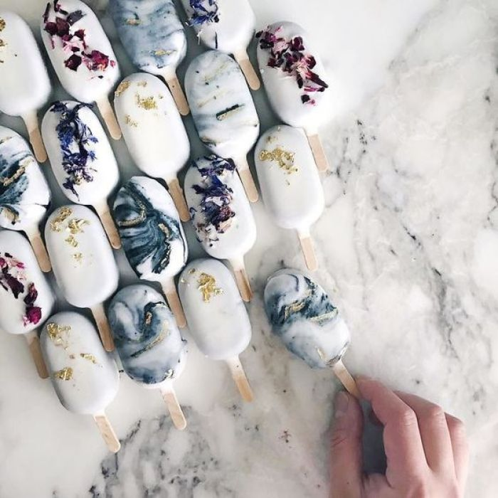 Marbled cake-popsicles by Ray Ray