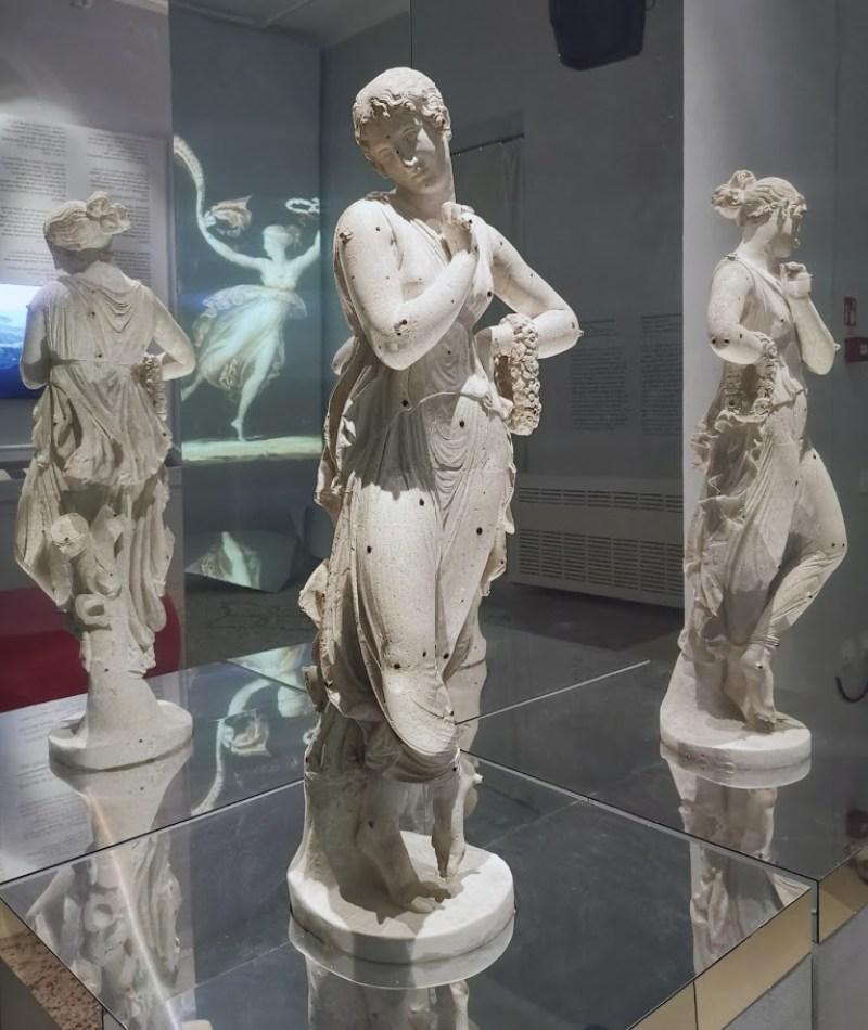 Canova dancer - original plaster