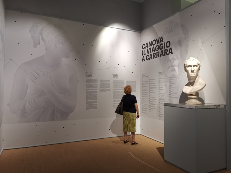 Canova story and its relationship with Carrara