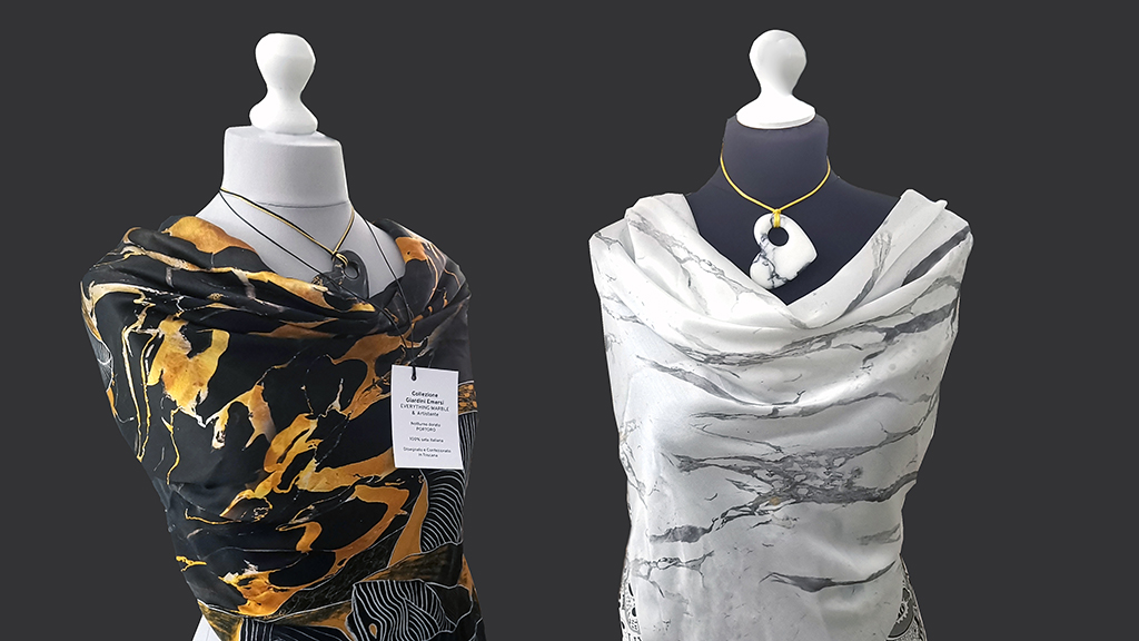 Made in Italy luxury silk scarves