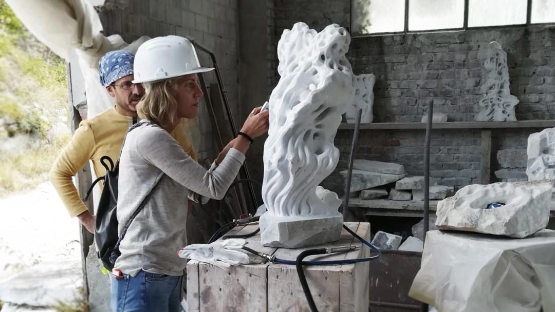 Sculpture workshop in Carrara - Cava Lazzareschi. A creative Tourism Experience