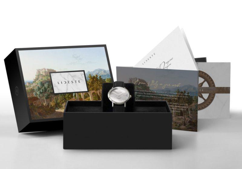 Lideste marble watch packaging