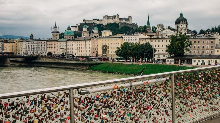 Salzburg Altstadt und Festung