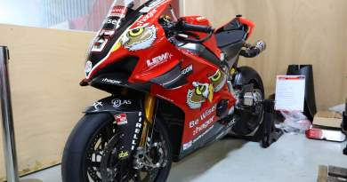 Scott Redding BSB Championship winning Ducati V4R listed for sale at £112,000