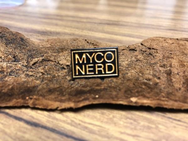 MycoNerd Enamel Pin