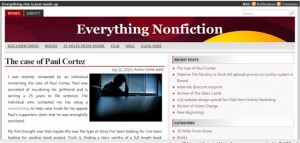 Screenshot of Everything Nonfiction