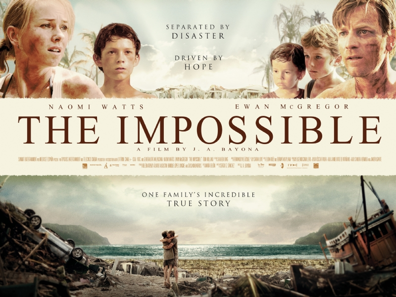 And the Oscar goes to – The Impossible
