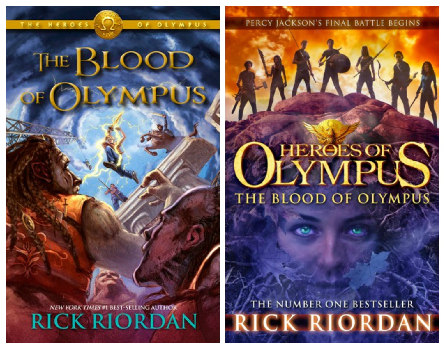Book Cover Update The Blood Of Olympus