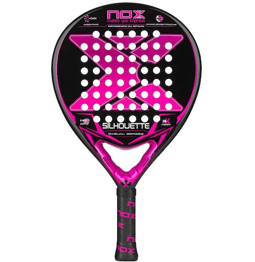 nox silhouette v padel racket
