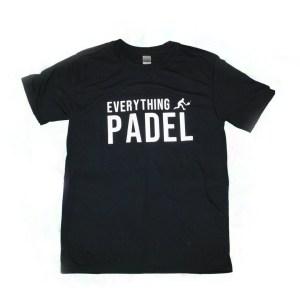 padel-t-shirt black