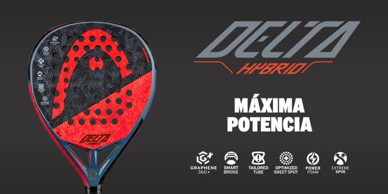head delta hybrid padel racket