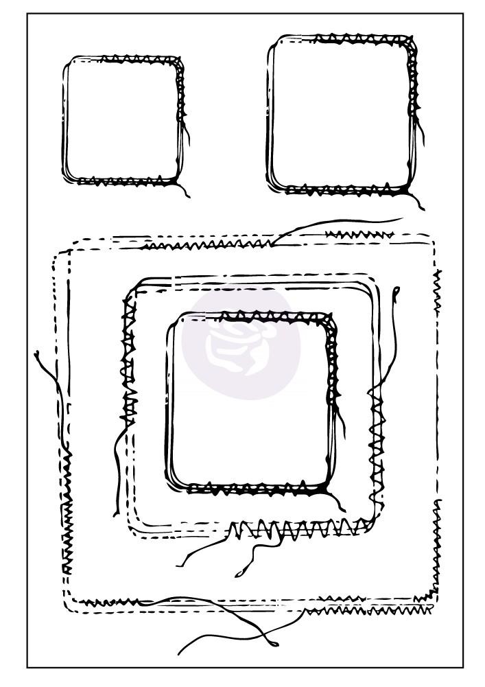 Prima Stitch Stamps - Squares