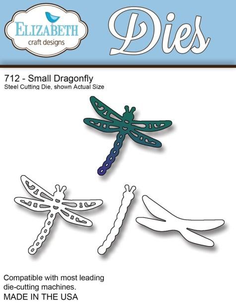 Elizabeth Craft Small Dragonfly Die