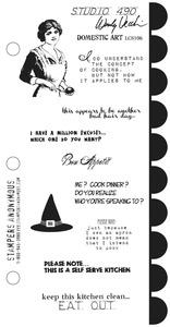 Wendy Vecchi Domestic Art Stamp Set