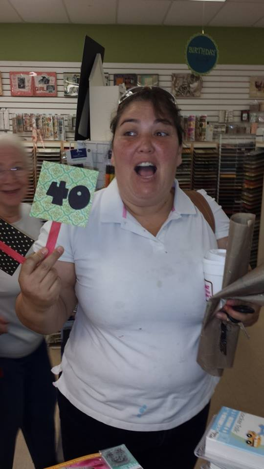 Of course, every customer was assigned a shopping number... gee, is there any reason Madeline received number 40???