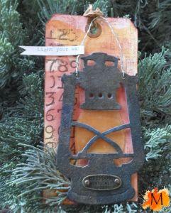 Ye Olde Rusted Lantern - January Tag #1
