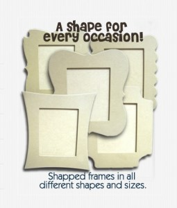 Various wood frames, plaques and overlays