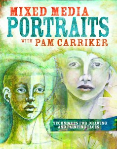 Pam carriker mixed media portraits