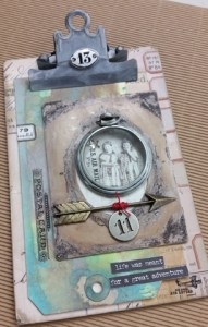Tim Holtz Clipboard @ everything scrapbook & stamps | Lake Worth | Florida | United States