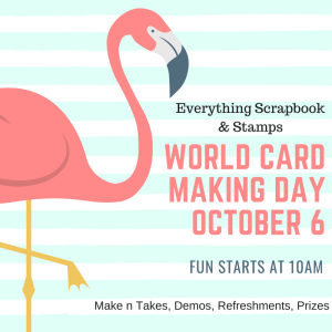 World Card Making Day @ Everything Scrapbook & Stamps | Lake Worth | Florida | United States