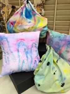Fabric Painting with Christine