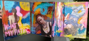 Soliloquy in Art Journal Form- Kelly Kilmer @ Everything Scrapbook & Stamps