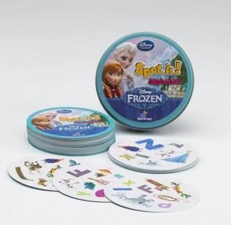 Frozen Spot It Game