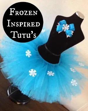 Disney Frozen Inspired Tutu