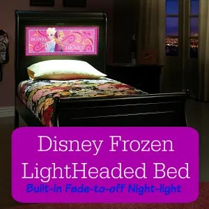 Disney Frozen LightHeaded Bed