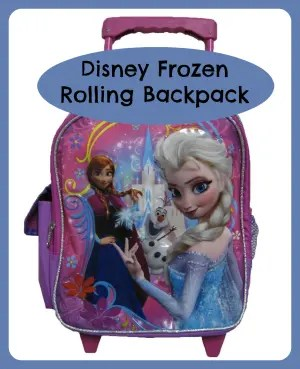 Disney Frozen Rolling Backpacks