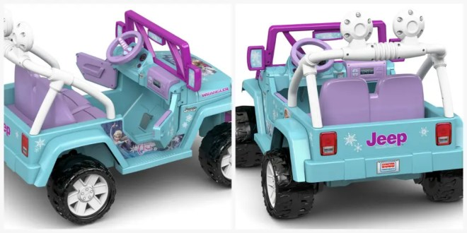 fisher price frozen jeep