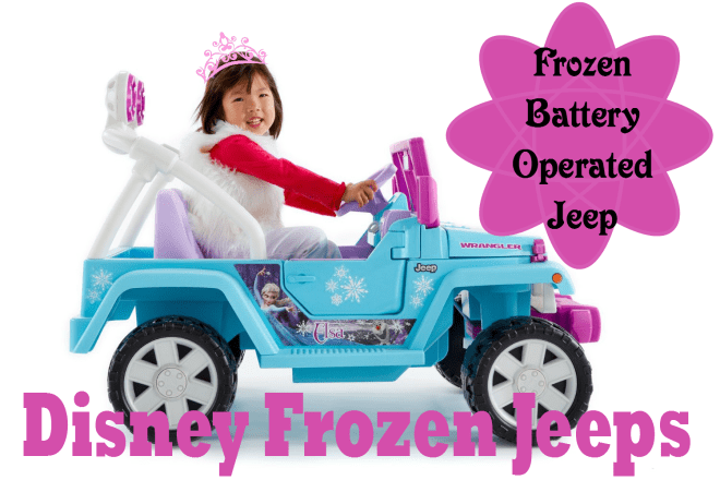 fisher price frozen jeep wrangler