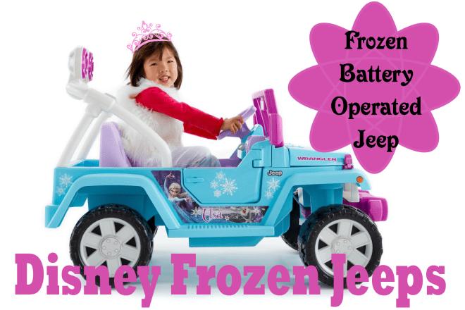 fisher price frozen jeep wrangler