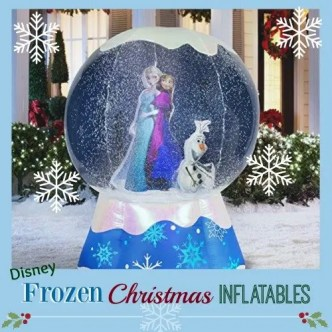 Frozen Christmas Inflatables