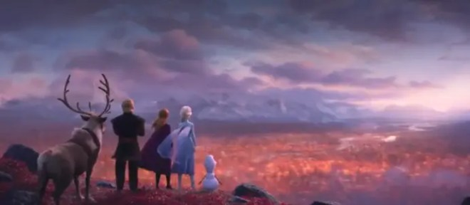 Frozen II Trailer Screenshot