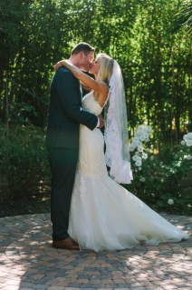 The Bride and Groom - first look!