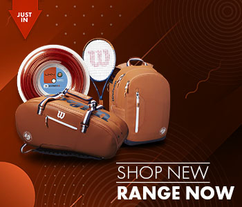 Shop  new tennis racquets, balls, bags and more