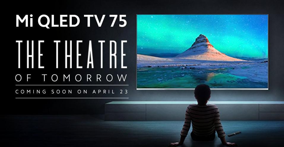 Mi QLED TV 75 India