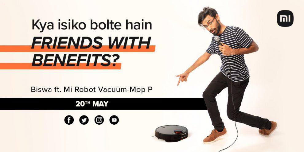 Mi robot vacuum campaign