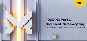 POCO M3 Pro launch invite