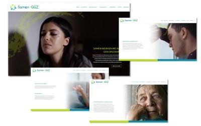 Webdesign & ontwikkeling Samen-GGZ